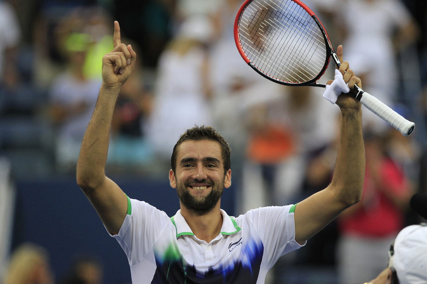 Cilic would make sure there would be no second comeback for Federer. 6-3, 6-4, 6-4 was the score, and the crowd - who lasted through a lengthy rain delay before the start of the match - was stunned.  - Philip Hall/usopen.org