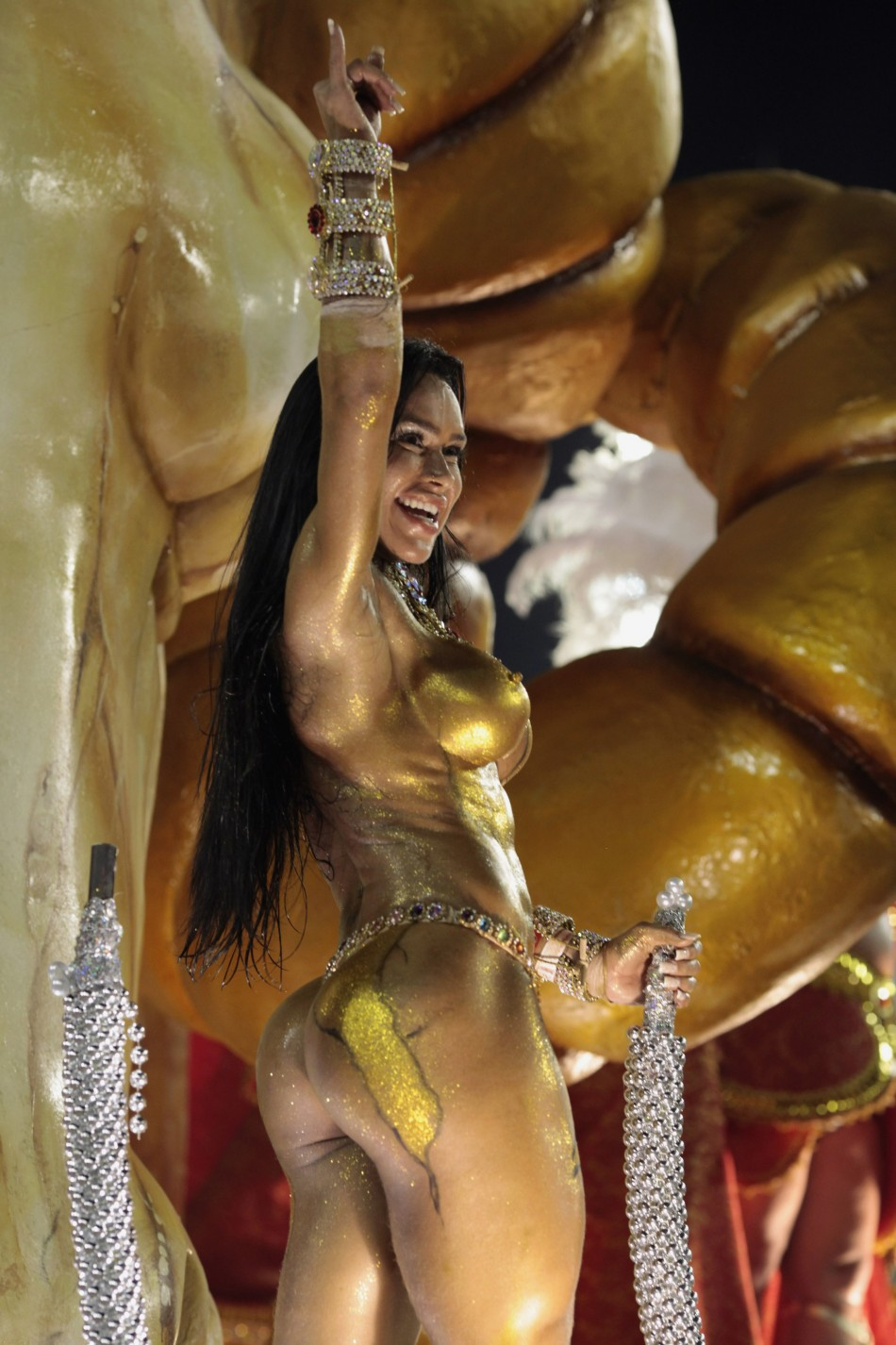 Meet The 50 Sexiest And NAKED Samba Dancers At Worlds